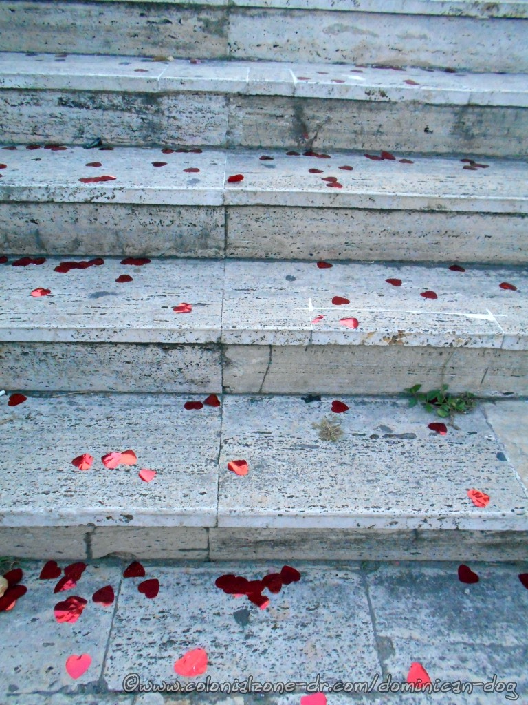 Hearts on the Stairs