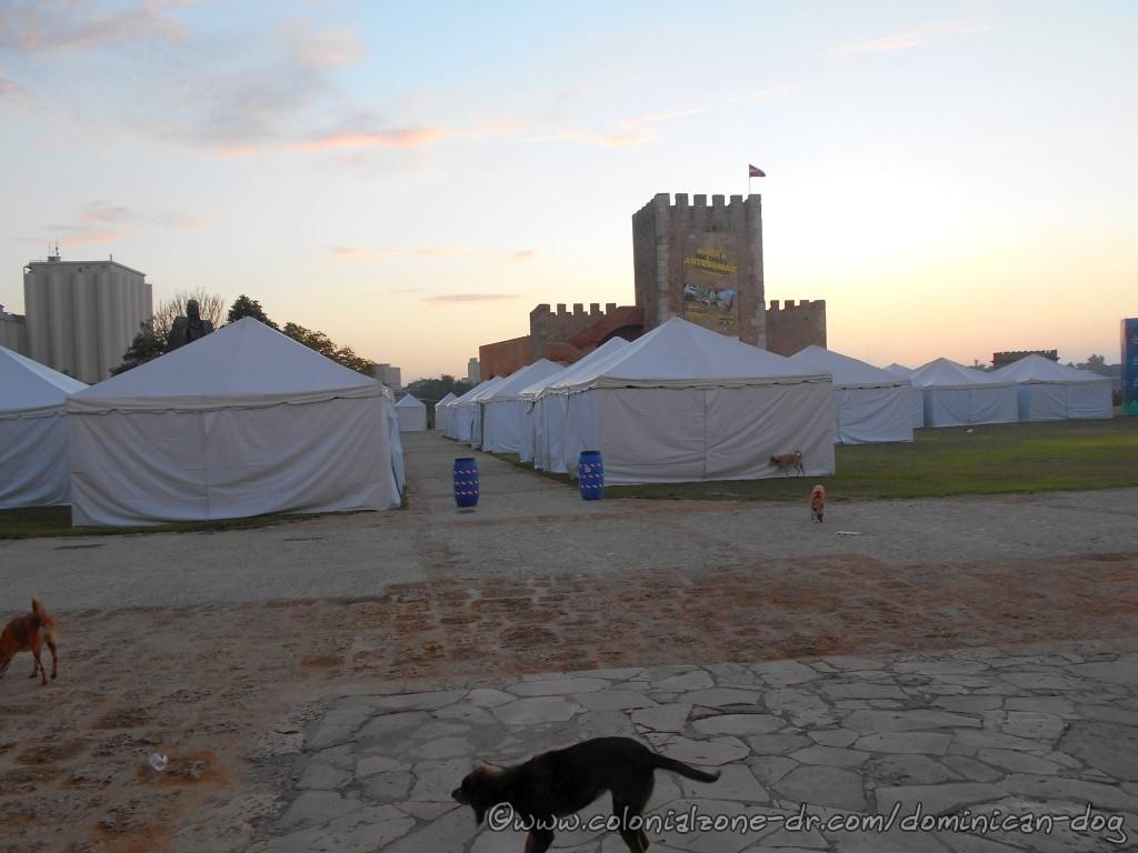 Christening of the tents at the XIV Feria Nacional de Artesanía