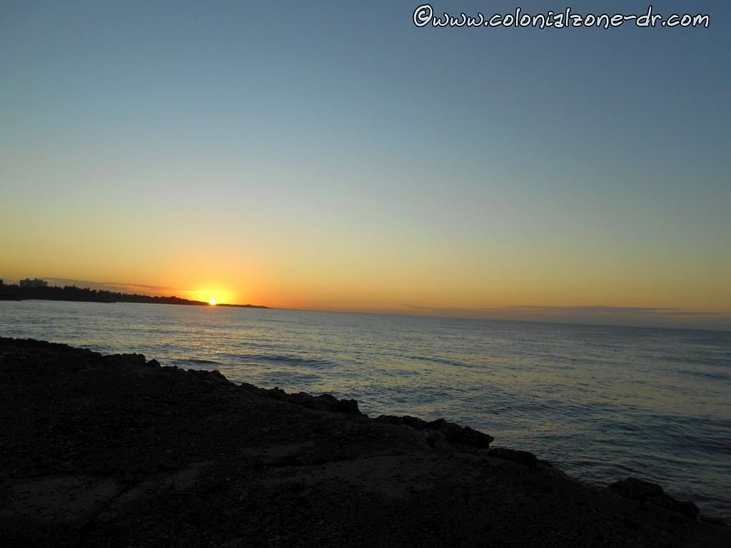 Easter Sunday sun rise at Punta Torrecilla