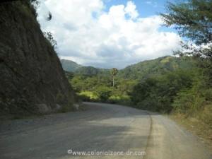 road to rancho arriba from ocoa dominican republic