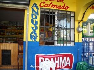 colmado andujar jose in window