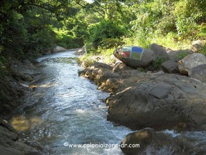 river where I sat with Billy Jay near cueva taino