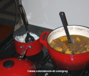 Sancocho made in Pennsylvania
