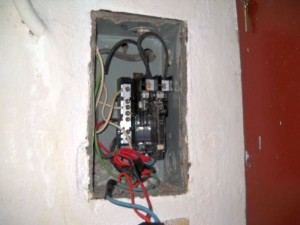 fuse box in my apartment