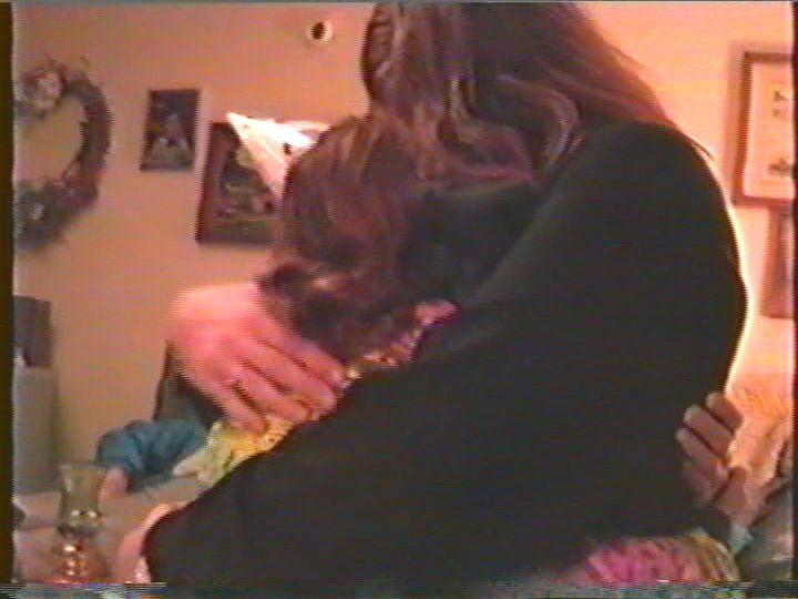 Billy Jay Hugging Me.