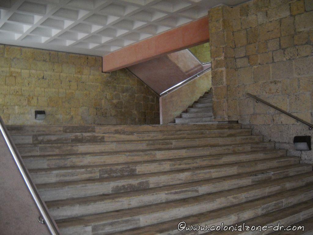 Stairs inside Montecino