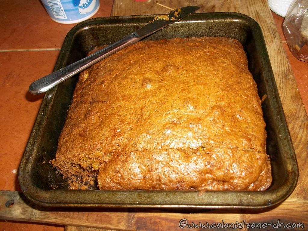 My mango cake - bread.