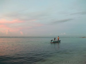 Early morning fishing in Juan Dolio