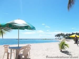 Monday sitting on the beach