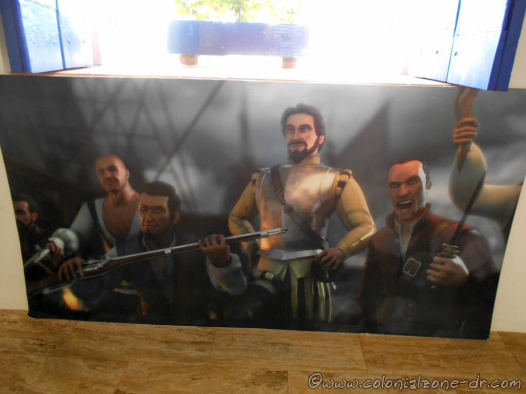 Sir Francis Drake and his crew