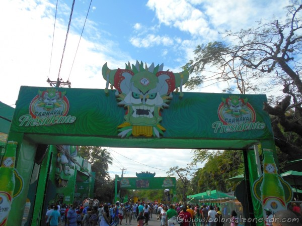 Entrance Carnaval Vegano