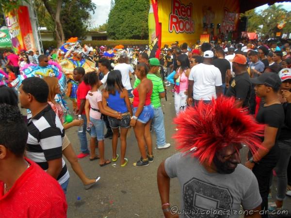 Carnaval Vegano streets