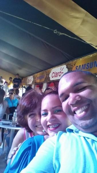 Juan Carlos, Rita and me. La Vega Baby!