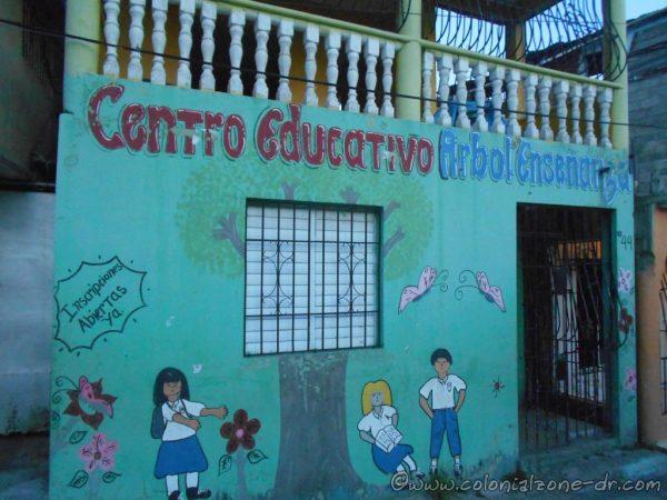 Centro Educativo Arbol de la Enseñanza, Calle Colón, Simonico, Villa Duarte.